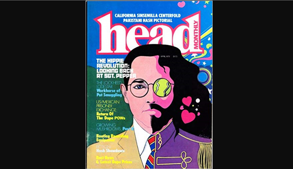 Head Magazine – Vintage Cover