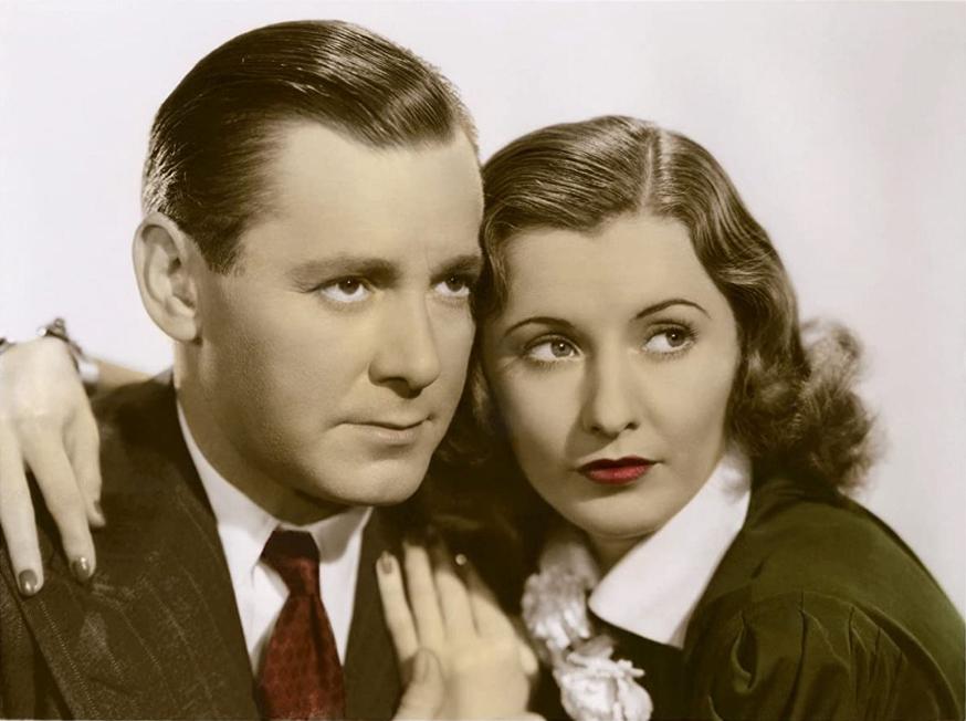 Barbara Stanwyck and Herbert Marshall in 'Always Goodbye'